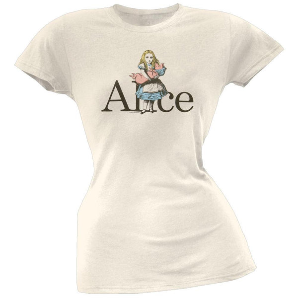 Alice In Wonderland - Turned Into A Pig Juniors T-Shirt