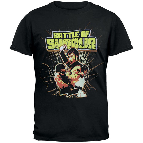 Battle Of Shaolin - Fight Collage Soft T-Shirt