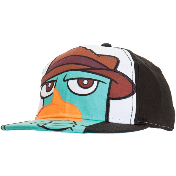 Phineas And Ferb - Big Face Flex-Fit Cap