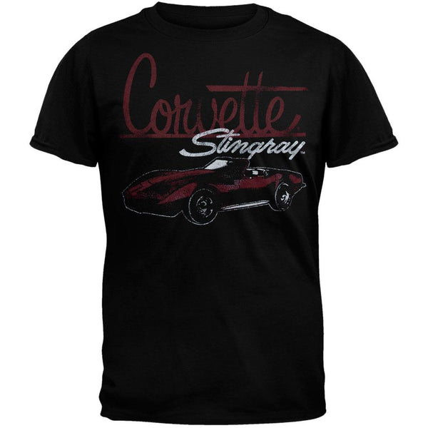 Chevrolet - Distressed Stingray Soft T-Shirt