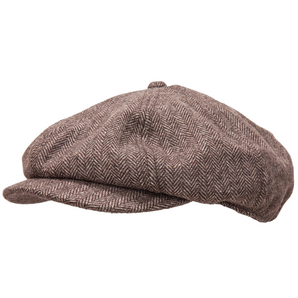 Peter Grimm - Matador Brown Newsboy Cap