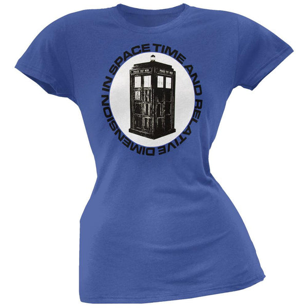 Doctor Who - Time And Relative Dimension Juniors T-Shirt