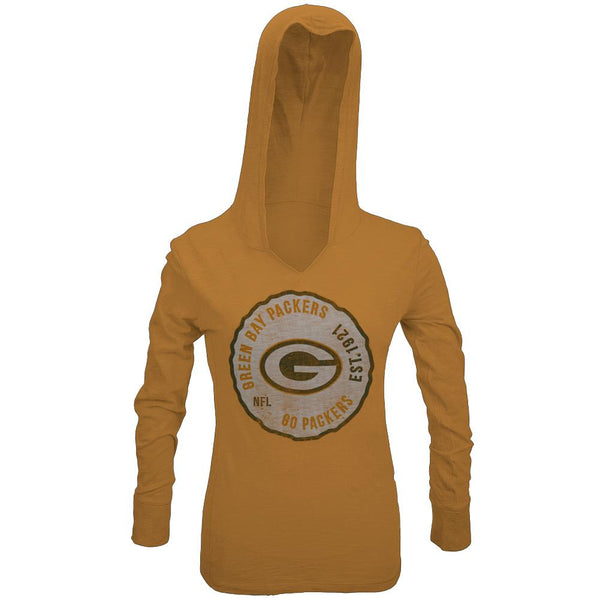 Green Bay Packers - Primetime Juniors Hooded Long Sleeve T-Shirt