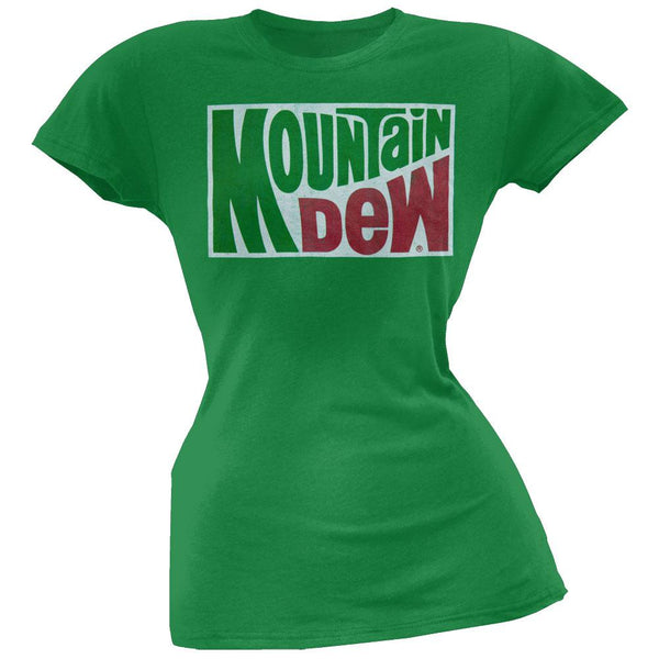 Mountain Dew - Classic Logo Juniors T-Shirt