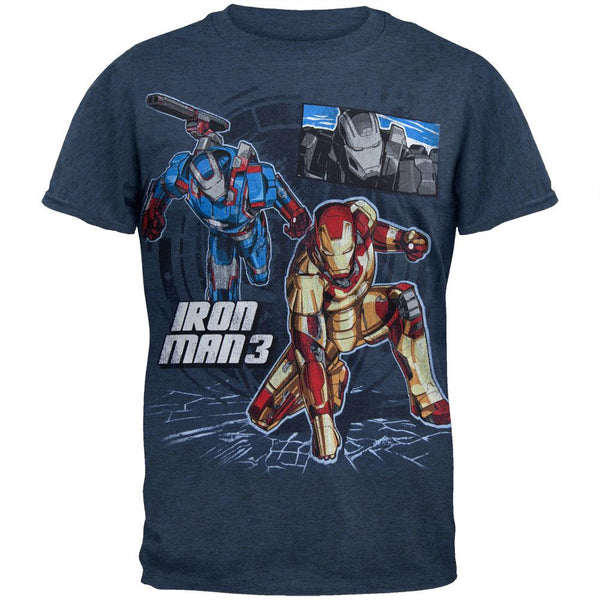 Iron Man - Three Suits Youth T-Shirt