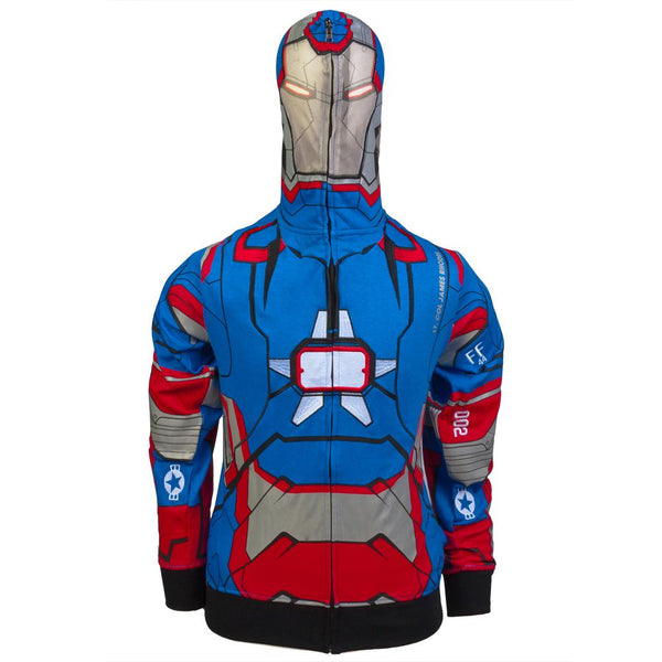 Iron Man - Patriot I Am Juvy Costume Zip Hoodie