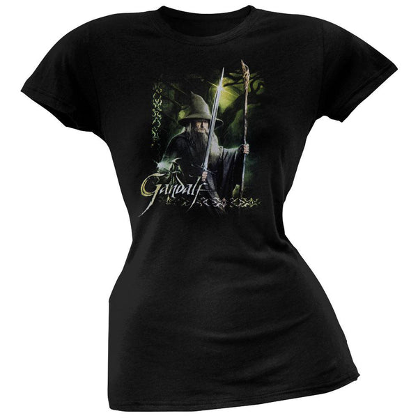 The Hobbit - Gandalf Sword & Staff Juniors T-Shirt