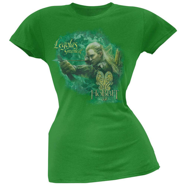 The Hobbit - Greenleaf Juniors T-Shirt