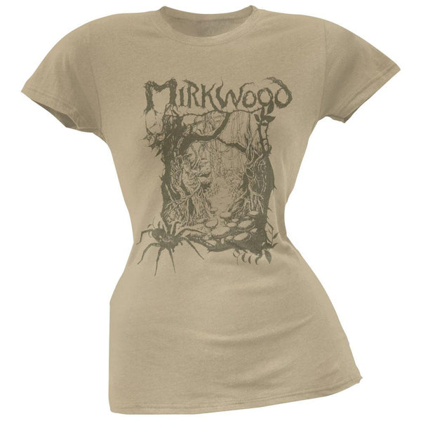 The Hobbit - Mirkwood Line Juniors T-Shirt