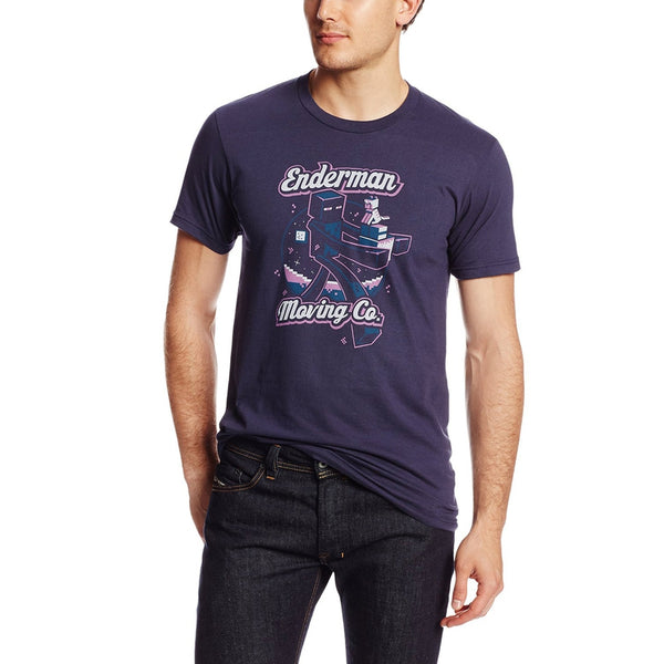 Minecraft - Enderman Moving Company Youth T-Shirt