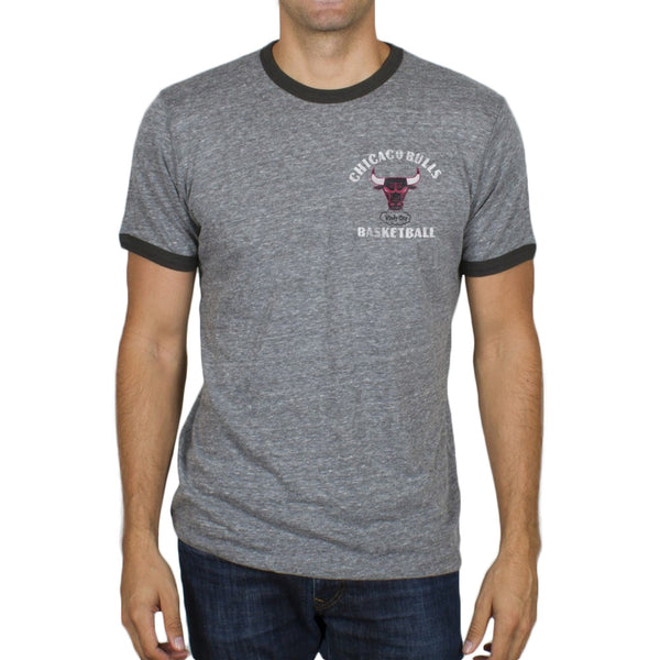 Chicago Bulls - Turnover Tri-Blend Soft Ringer T-Shirt