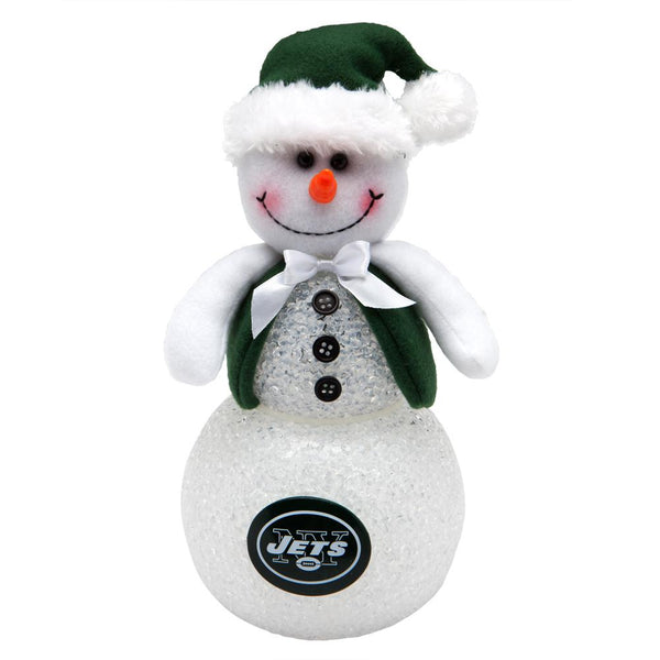 New York Jets - Light-Up Tabletop Snowman