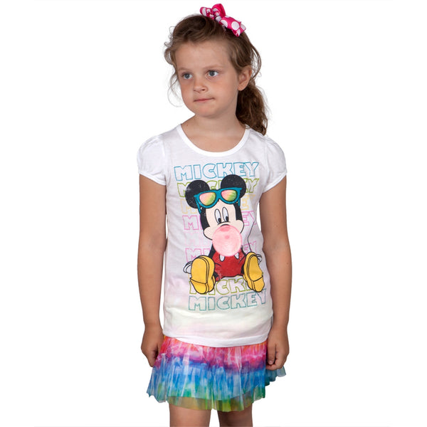 Mickey Mouse - Summer Mickey Girls Juvy Skirt Set