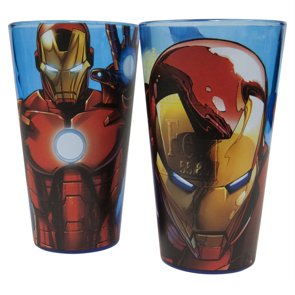 Iron Man - Portrait Pint Glass Set