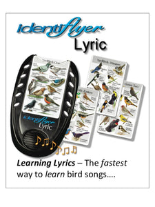 learn bird songs and bird calls,frog calls,turkey calls,duck calls,identify birds,identiflyer,bird identifier