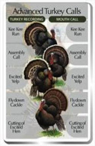 Advanced Turkey Calls SongCard - For Classic IdentiFlyer