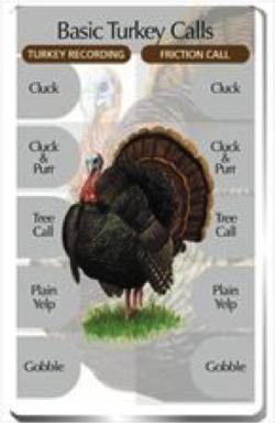 Basic Turkey Calls Classic IdentiFlyer SongCard
