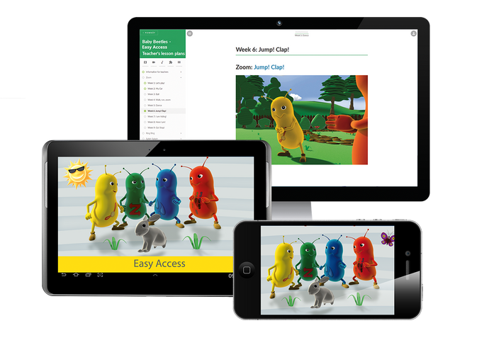 Baby Beetles – Easy Access - access code for teacher's materials