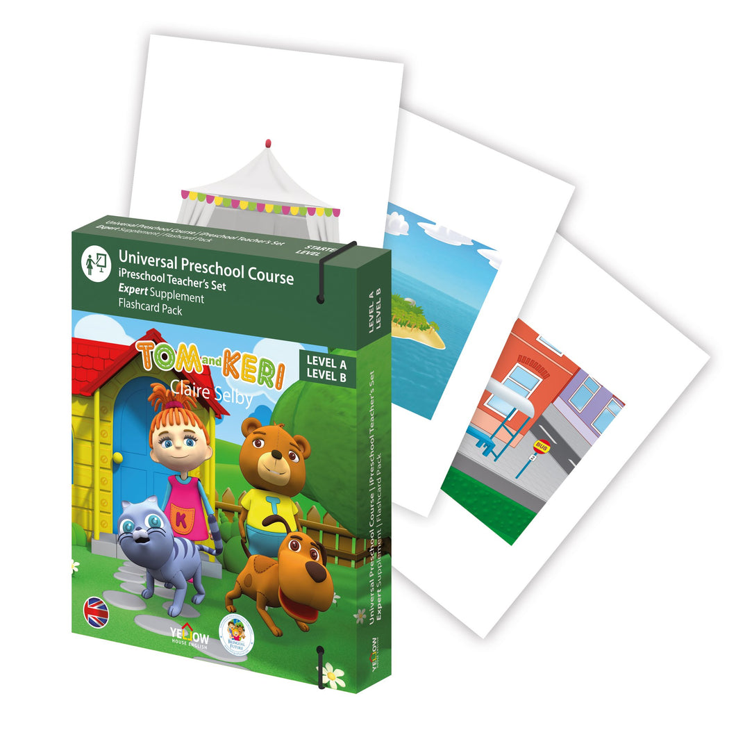 Tom and Keri A and B Expert Flashcard pack