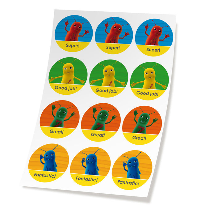 Baby Beetles reward stickers
