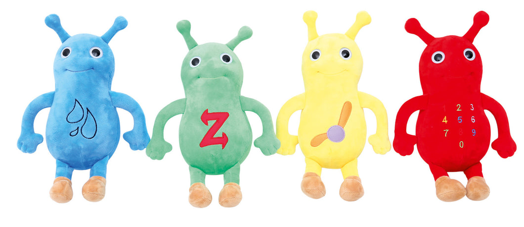 Set of Baby Beetles character soft toys