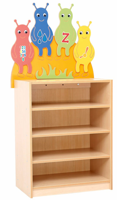 A Baby Beetles shelf unit