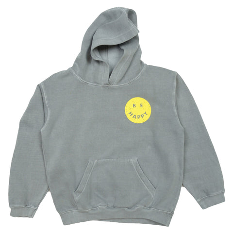 Gilbert and Livingston Be Happy Hoodie Front