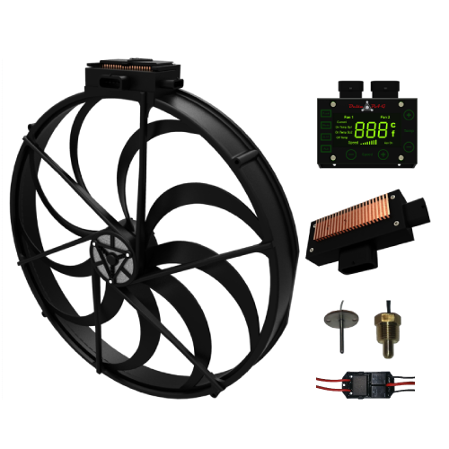Brushless Fan Components