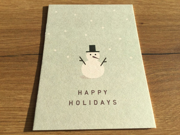 Postkarte Happy Holidays (ahoi)