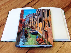 Hardcover A5 blanko Venedig - Polly Paper