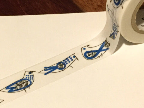 "mt Masking tape Larson ""retro birds"""