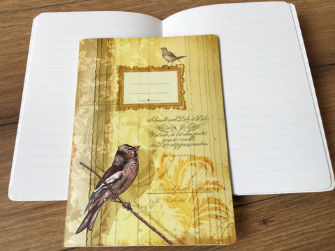 Journal A6 taurus Birdy - Polly Paper
