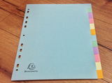 Register A4 pastell RC Exa° - Polly Paper