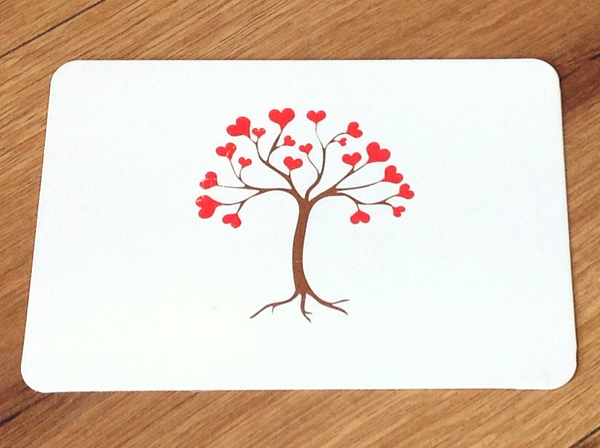 Postkarte Tree of Love (Gutrath) - Polly Paper
