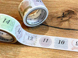 Washi tape Zahlen 2er-Set MASTE