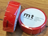 mt masking tape red uni - Polly Paper