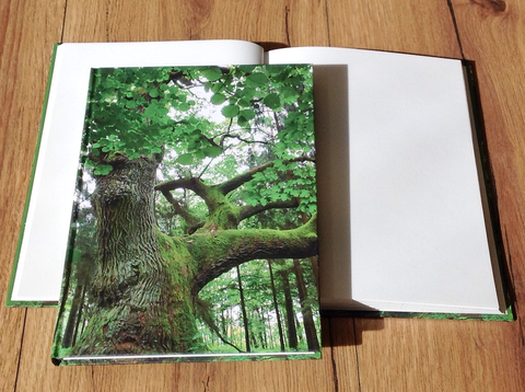 Hardcover A5 blanko Baum - Polly Paper