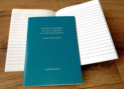 Rememberbook A6 Schopenhauer - Polly Paper