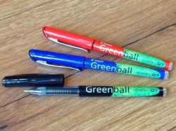 Greenball Tintenroller BeGreen Pilot° - Polly Paper
