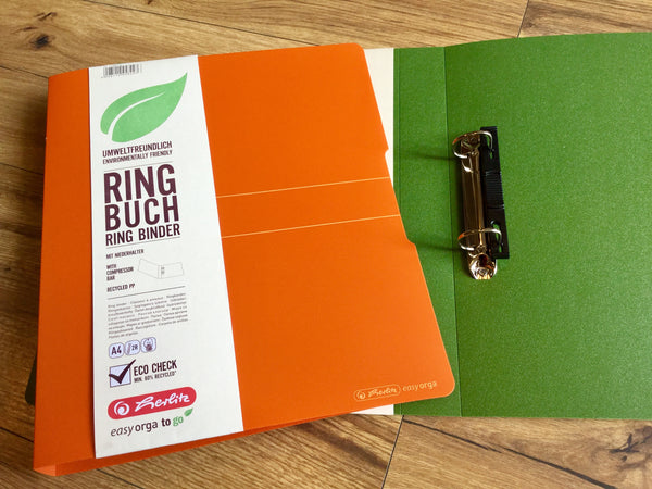 Ringbuch A4 Recycling Pp Herlitz Polly Paper