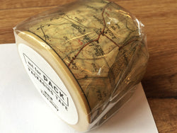 mt tape 4,5cm map vintage 15m Packband