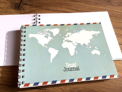Notizblock Travel Journal A6 (snw?)