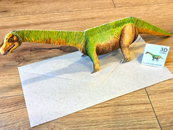 3D Pop-Up-Karte Dinosaurier