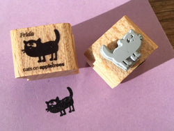 Mini-Stempel Katze Frida (Cats on appletrees)