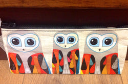 "BlueQ Pencil case ""Hoo's Next"" Eulen"