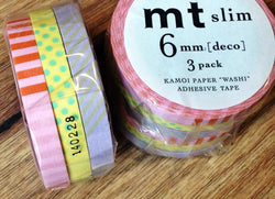 mt slim tape 3er-Set Deco A