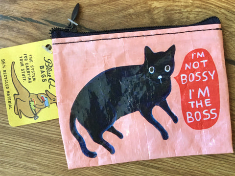 BlueQ Purse Bossy cat