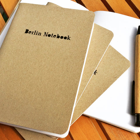 Berlin Notebook 10x15 kraft