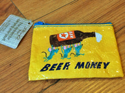 "BlueQ Purse ""Beer Money"""