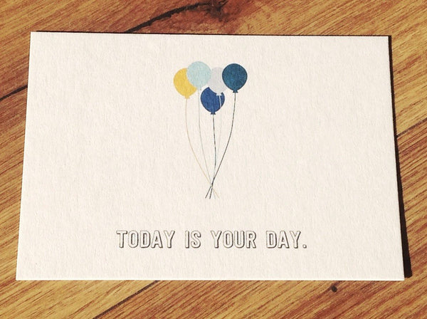Postkarte ahoi Your day - Polly Paper